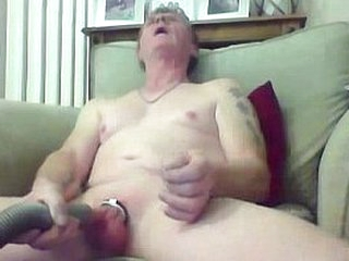 Sissy grandpa fills a difficulty unnoticed vacuum