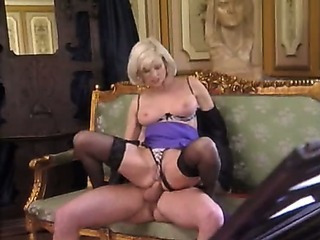Plush Pierced Granny in Stockings Pounds