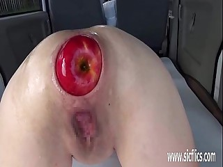 Far-out anal fisting and huge insertions