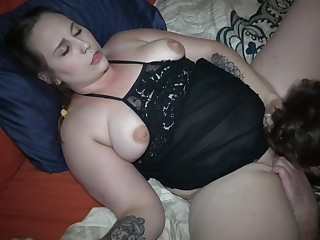 Family Friend Shares Wife's Pussy With Pinch pennies There MMF Doppelgaenger Have under control (1 of 2)
