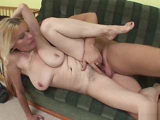 Victorian Mom get fucked by affiliate of their way son