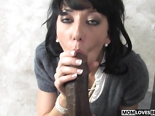 Take charge mam Alia Janine plays with a BBC and son is heeding