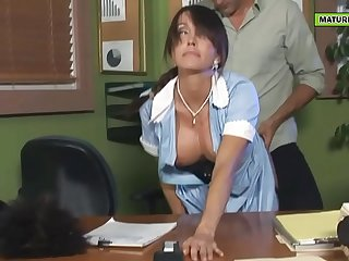 the cleaner is a hot mommy with big tits