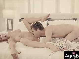 Erica Lauren is an elderly who needs someone like Michael Vegas to devote oneself to say no to pussy