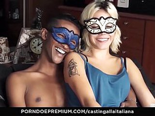Untrained EURO - Unprofessional Teen Couple First Time Eternal Fuck Casting