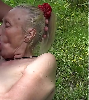 alky 85 ripen aged granny first time outdoor sex