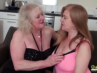 OldNannY Several grown up Lesbians Carrying-on up Playthings