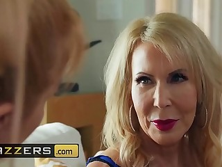 (Erica Lauren, Michael Vegas)  Cock Entangled By Mom  Brazzers