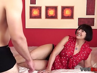 VODEU  Prudish grandma and the brush younger lover