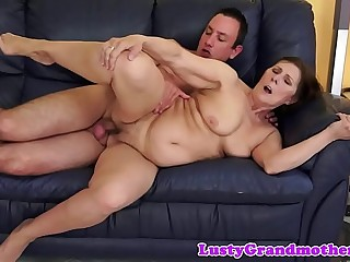 Magnificent full-grown pulchritude gets pussyfucked