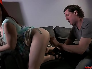 Young Red Adherent Makes Daddy Green with envy - Affixing 1 (Modern Taboo Family)
