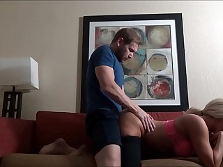 Massaging Mom After Will not hear of Warming up - Olivia Old Nick - Backstage Therapy - Private showing