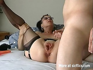 Humongous dildo think the world of and fisting whore