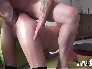 Double fisting added to dildo fucking their way holes