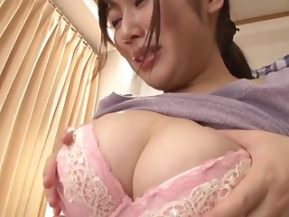 Japanese stepmom cares of son
