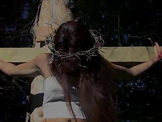 Pretty unspecified crucifiedKarolane