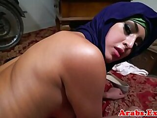 Chokeplay arab bungler doggystyle have a passion