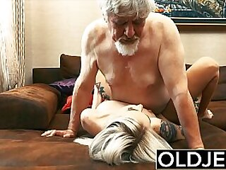 Old and young sex