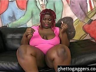 Diabolical BBW Marley XXX Gags On Dicks