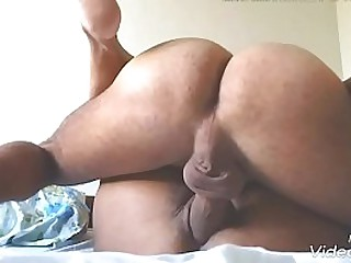 wife with cum jizz sperm nearby the brush pussy