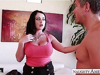 Busty brunette Sophie Dee fucking